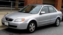 2001-2003 Mazda Protege LX sedan (US)