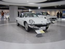 """Mazda Cosmo Sport L10B/Series II (note the larger """"mouth"""")"""