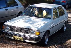 1979-1980 Mazda 323 hatchback