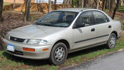 1995-1996 Mazda Protege LX (US)