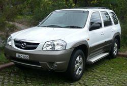 Australia-spec Mazda Tribute