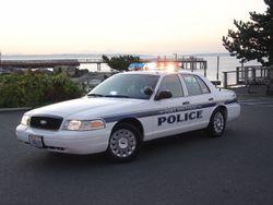 Police Interceptor of the Port Townsend, Washington Police Department