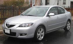 2007-2009 Mazda3 sedan (US)