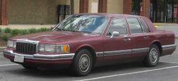 1990-1992 Lincoln Town Car