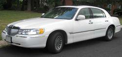 1998-2002 Lincoln Town Car Cartier