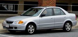 1999-2000 Mazda Protege ES sedan (US)