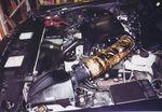 Police interceptor/Mercury Marauder air intake assembly