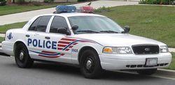 Ford Crown Victoria Police Interceptor (Washington, DC Police)