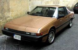Mazda 929 coupe, ca. 1985