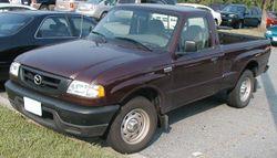 2002-2006 Mazda B2300 regular cab (US)