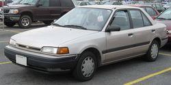 1993-1994 Mazda Protegé sedan (US)