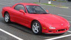 US-market FD Mazda RX-7