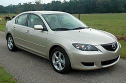 2006 Mazda3 i sedan (US)